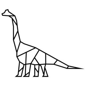 nastenna dekorace dinosauri brontosaurus