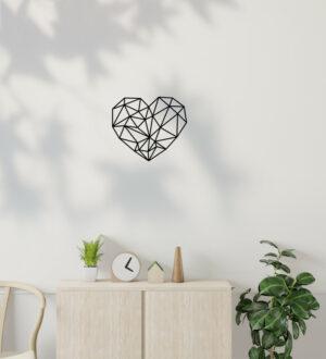 dekorace na zed srdce